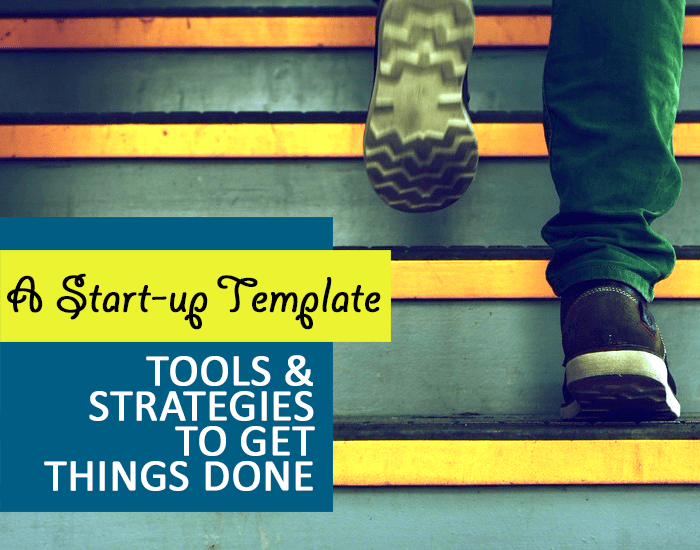 The Successful Start-up Template: How to Rev Up Operations and Get Things Done